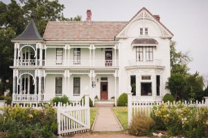 The Barr Mansion in Austin, Texas | Photo by Caroline + Ben Photography via Something Pretty