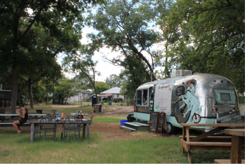 "Born in 2010, the Vegan Yacht boasts an ""veganic"" (vegan plus organic) menu out of its trailer lot on 12th Street. Similar restaurants have set up shop in East Austin over the past two to three years."