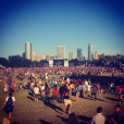 ACL attendees invade Zilker Park for two weekends of music and festival fun. Photo by ORANGE