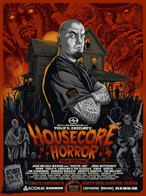 """Poster Design by """"Ghoulish"""" Gary Pullin"""