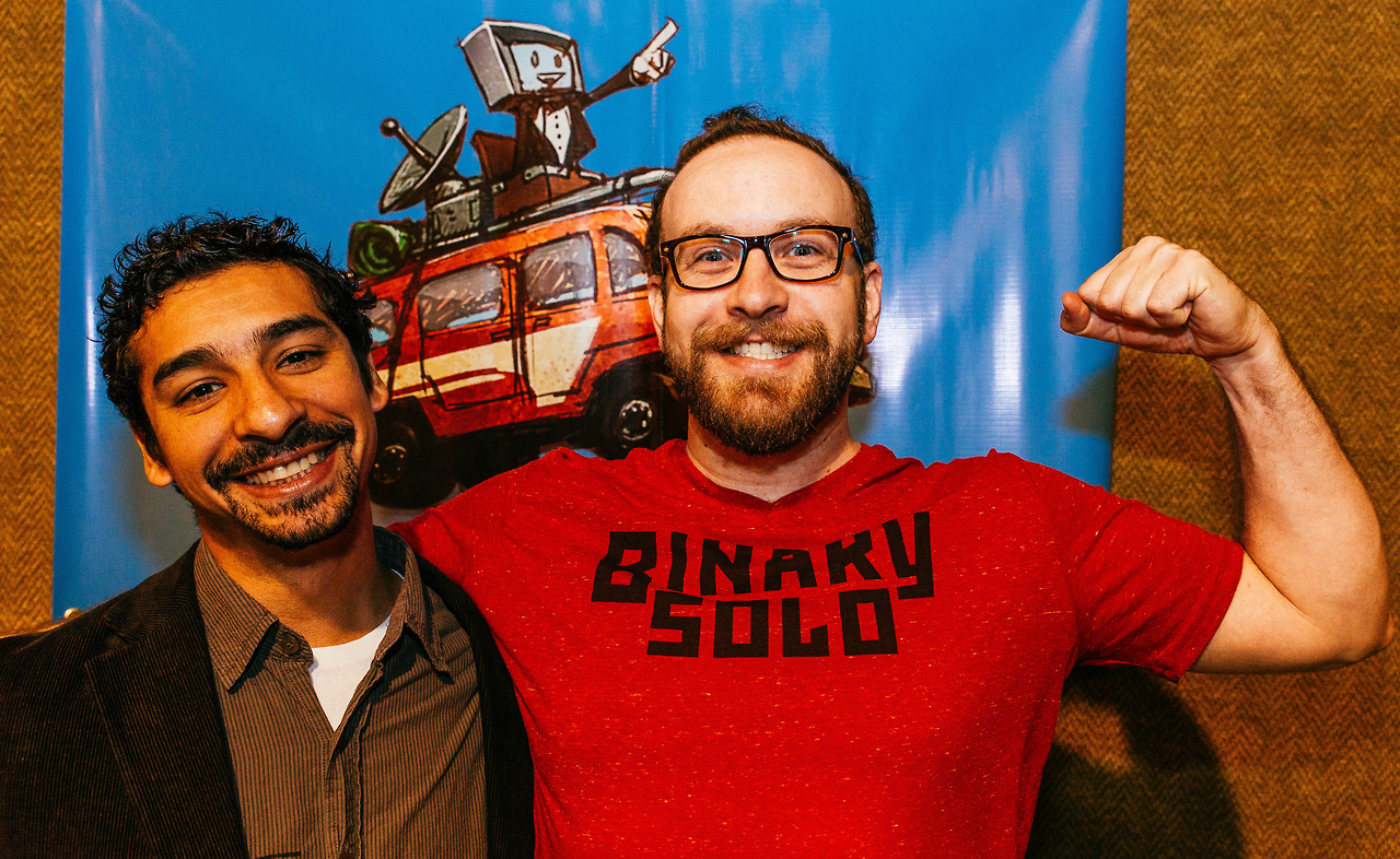 Indie Game developers Diego Almazan and Chad Stewart of Binary Solo.