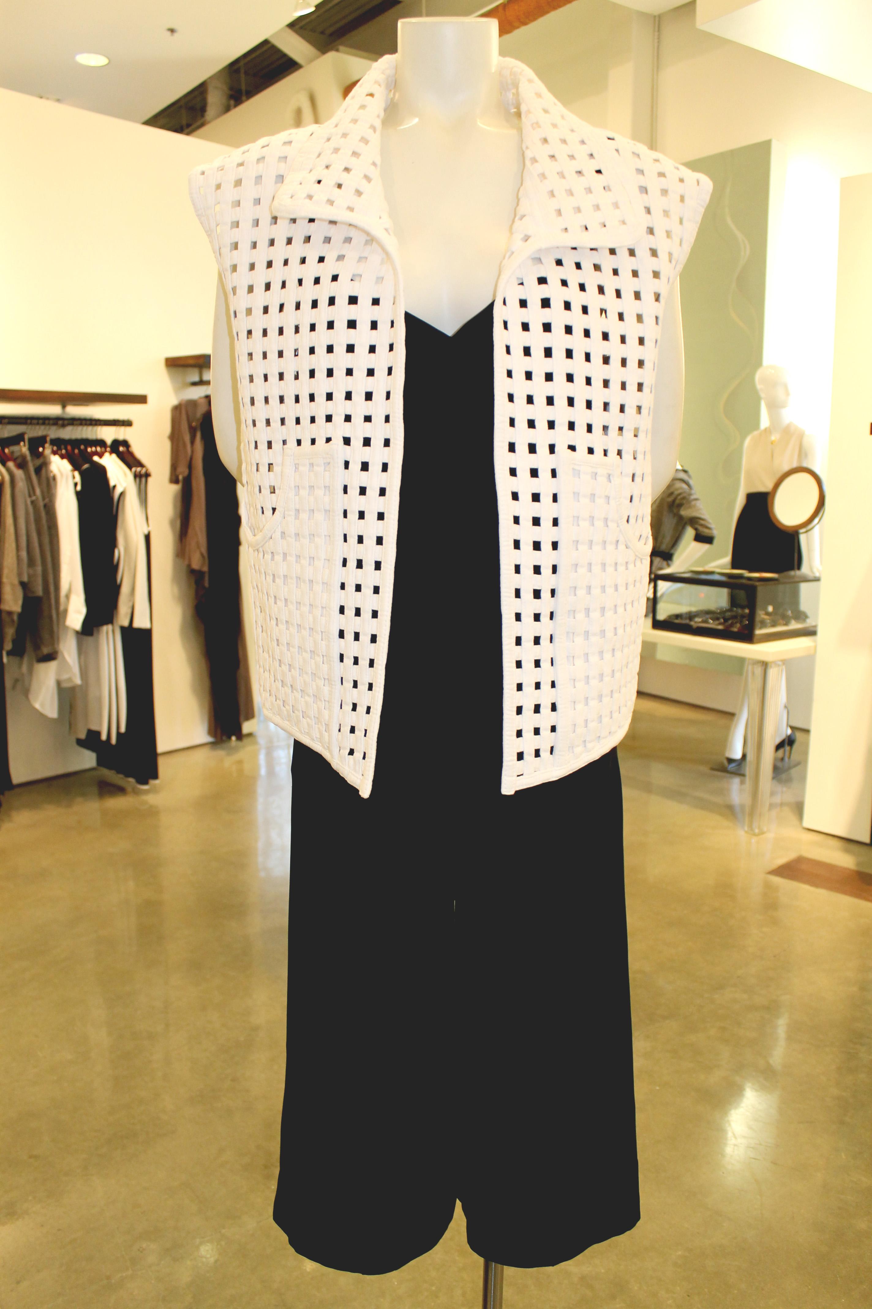 Isabel Marant basket weave vest at By George — $1,235