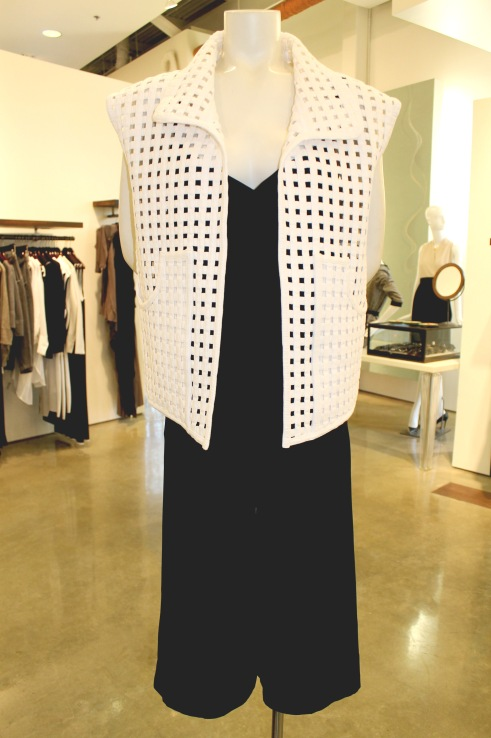 Isabel Marant basket weave vest at By George — $1,235
