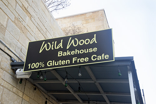 Wildwood Bakehouse is placed conveniently close to UT's campus on 31st Street and Guad.