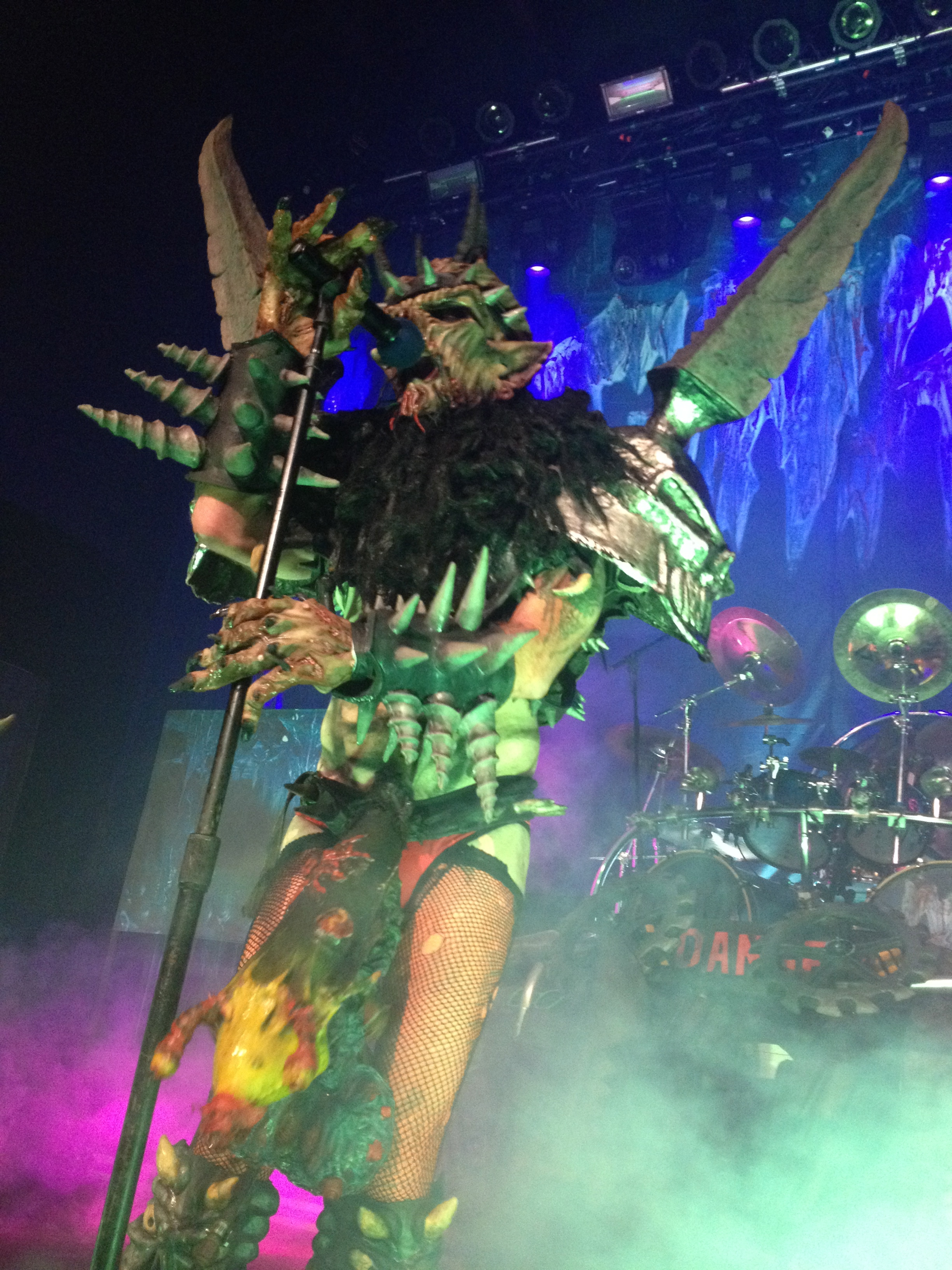 GWAR took no prisoners at Emo's last October, dousing the audience in fake blood and setting the venue ablaze with moshing.
