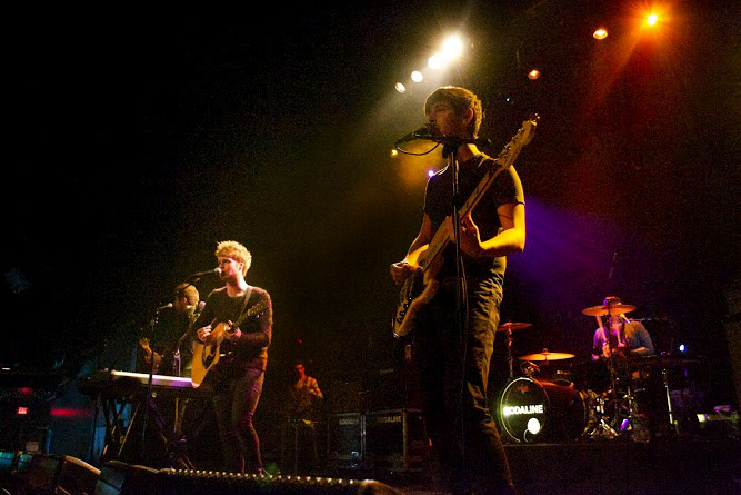 Kodaline's emotional music style draws influence from artists, ranging from Billy Joel to alt-J. Their constant discovery of new bands while on tour helps constantly evolve their sound.