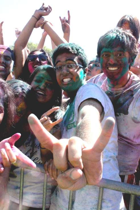 University pride emanates from UT's Hindu Student Association's festival, one of the biggest Holi celebrations in Texas.