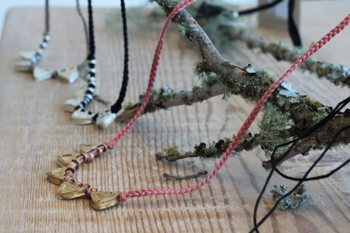 Necklaces from Raven + Lily.