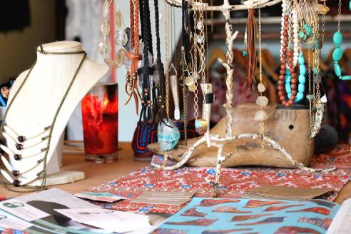 Teysha also sells jewelry in its Austin storefront.