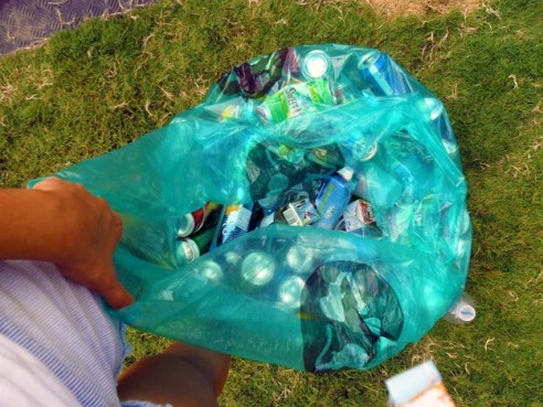 ​Photo of ACL 2011 Rock and Recycle Program.​
