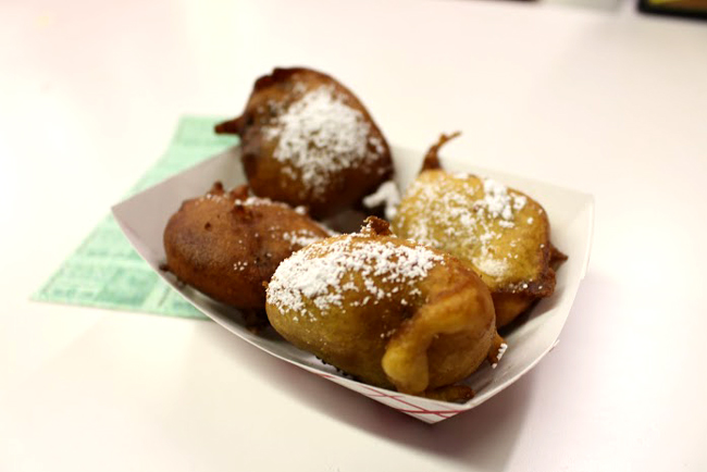 Fried oreos are veteran of fried foods at the fair, but just as delicious.