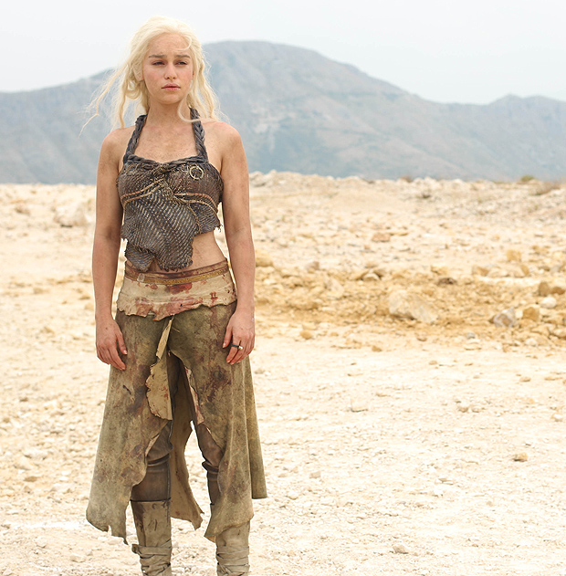 If you could be anything for Halloween, what would you be?  Khaleesi. Always and forever. I want her white, braided hair and her I-just-fought-an-army outfits. I would love to see if I could pull off her look with a wig and some torn up clothes! Mother of Dragons? More like mother of the babes.