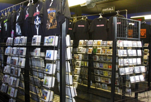 Boasting an eclectic and orderly music selection, as well as an awesomely nostalgic and bizarre assortment of t-shirts, Encore Records is the perfect spot for any heavy music enthusiast.