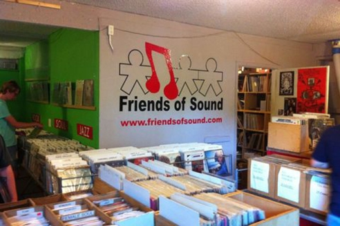 The glorified basement that is Friends of Sounds Records has a catalog that spans decades. If you look hard enough, you'll be sure to find a record that even your grandparents forgot existed.