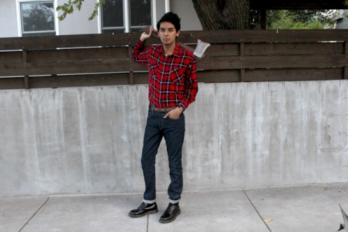 Lumberjack: Modeled by Kyle Cavazos