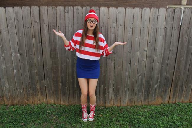 Waldo: Modeled by Jessica Slate