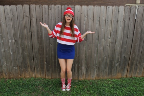Waldo: Modeled by Jessica Slate