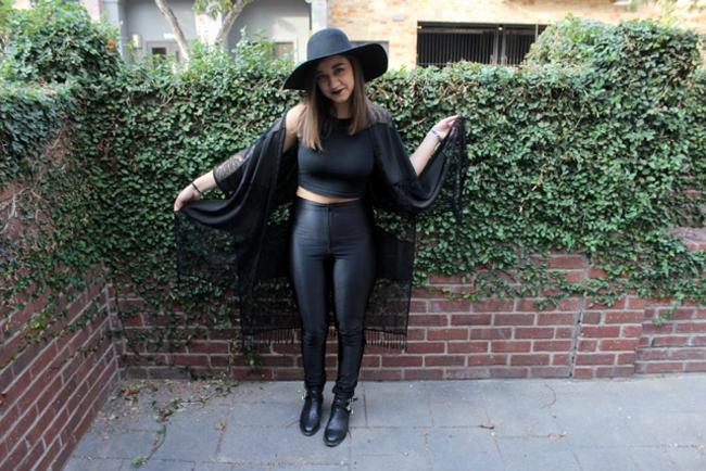 Witch: Modeled by Bayli Armendariz
