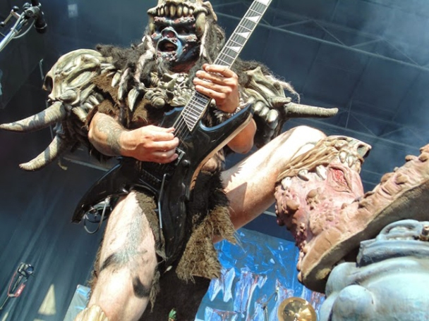 ​Pustulus Maximus at the fifth annual GWAR-B-Q in Richmond, Virginia on Aug. 16, 2014. (Photo courtesy of Jojo Shrader)​