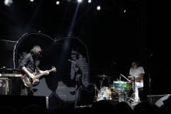 Canadian dance-punk duo Death from Above 1979 are back after a nearly 10 years apart to deliver a career-spanning set Friday on the Black Stage.​