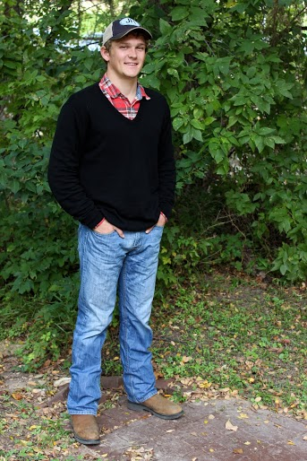 Sweater weather  Gap flannel, Merona sweater, Levi jeans and Justin boots. Modeled by Jacob Hickerson.