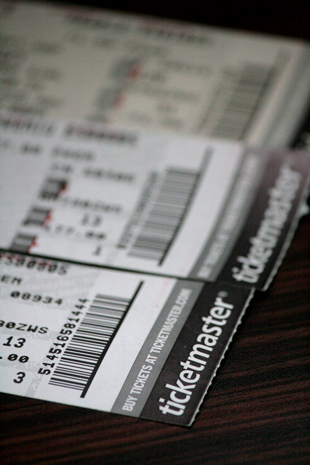 Counterfeit tickets often bare a striking resemblance to real tickets.