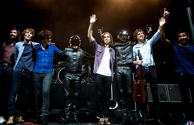 Phoenix and Daft-Punk at Madison Square Garden