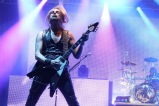 Judas Priest guitarist Richie Faulkner, successor to K.K. Downing, brings some young blood to the legendary metal group. ​