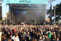 Killer Mike and El-P of Run the Jewels command a frenzied audience Friday afternoon on the Blue Stage.​