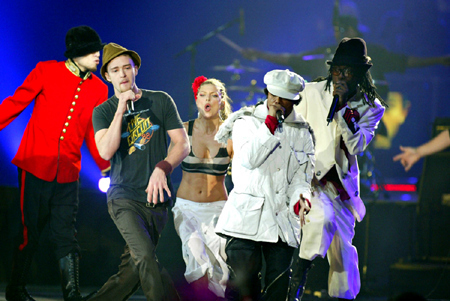 The Black Eyed Peas and Justin Timberlake